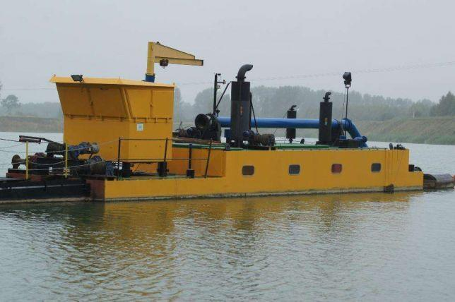 Refuler pogłębiarka ssąca. Refuler suction dredge