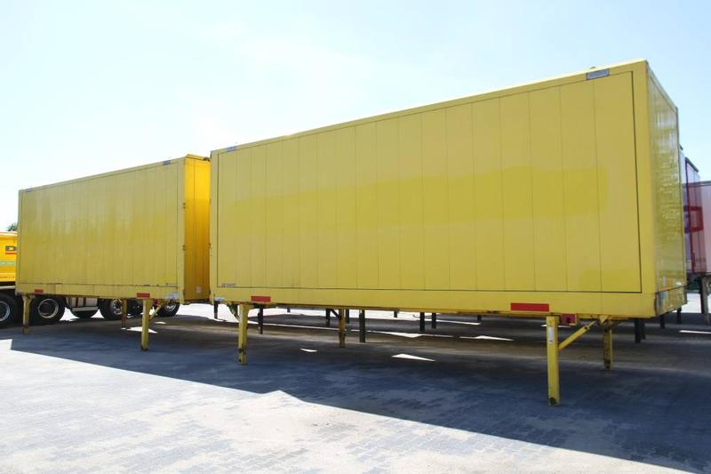 Krone BODY BDF CONTAINER BOX CLOTHES CARRYING WK 7.7 NST
