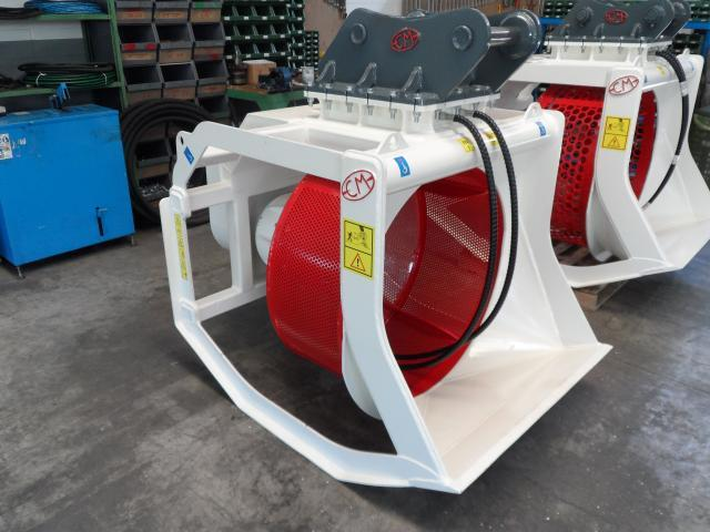 CM CBR 12 Screening Bucket