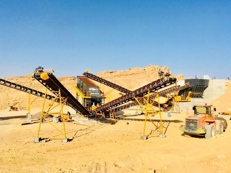 Fabo STATIONARY TYPE 400-500 T/H CRUSHING & SCREENING PLANT