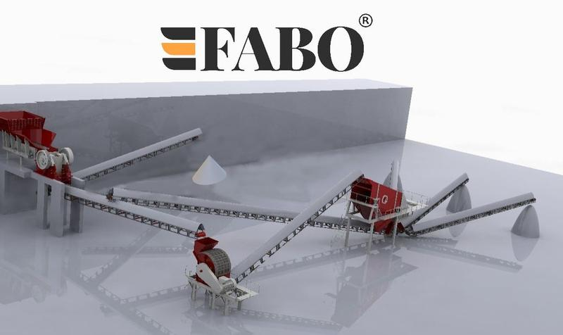 Fabo STATIONARY CRUSHING PLANT | AVAILABLE IN PARTS