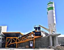 Fabo CONCRETE PLANT- 120m3/h MOBILE READYMIX PLANT WITH 3m3 TWINSHAFT