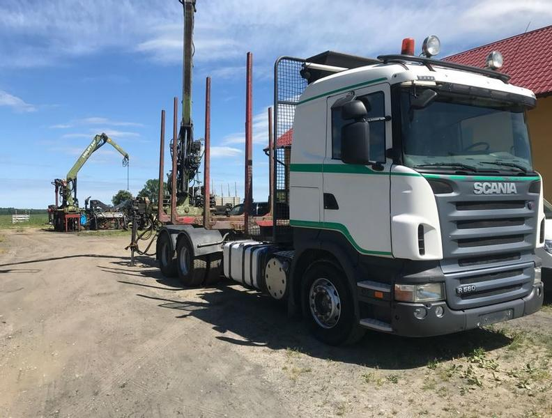 Scania - R 560+ Loglift 96