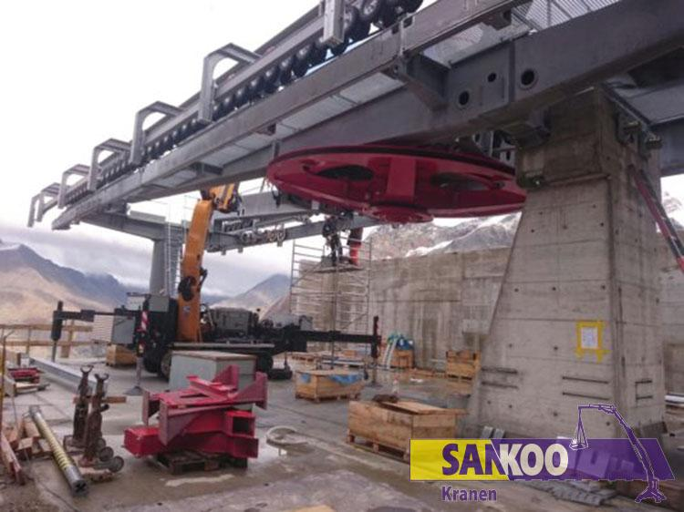 Sankoo Bg Lift CWE525 AT Kompakt krane