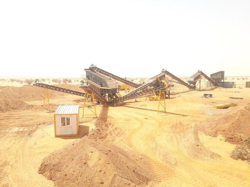 Fabo STATIONARY TYPE 200-300 T/H CRUSHING & SCREENING PLANT