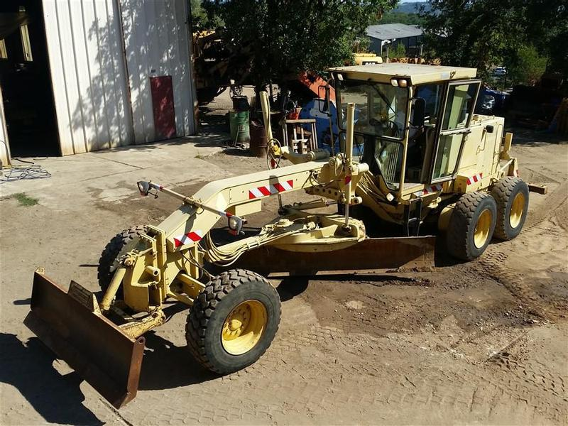 Caterpillar 12H ripper
