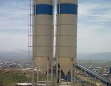 Promax 100 tons cement silo delivery from stock