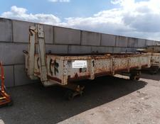 Cemafer geismar Abrollcontainer Gleis schiene train