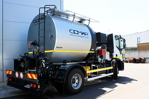 COMAP S.r.l Italy BITUMEN SPRAYING AND TRANSPORT