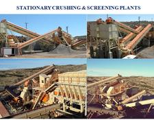 Constmach STATIONARY CRUSHING SCREENING PLANTS IN EVERY CAPACITY YOU NEED