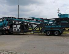 Constmach MOBILE 120 CE CERTIFICATED MOBILE CONCRETE PLANT