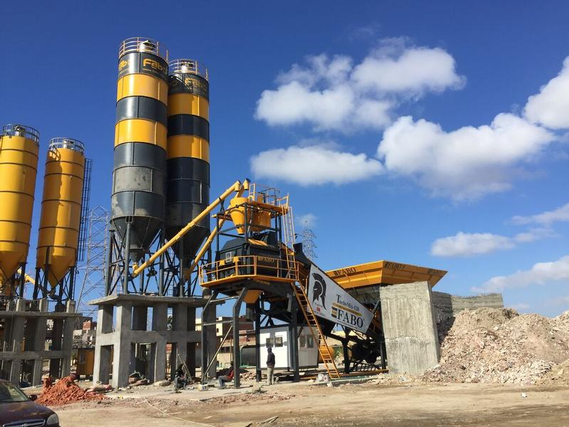 Fabo TURBOMIX-120 MOBILE CONCRETE BATCHING PLANT | CALL NOW