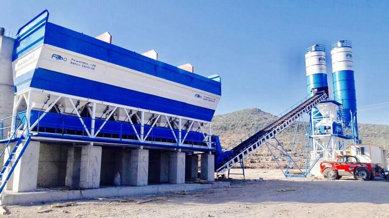 Fabo POWERMIX-130 | CONCRETE BATCHING PLANT
