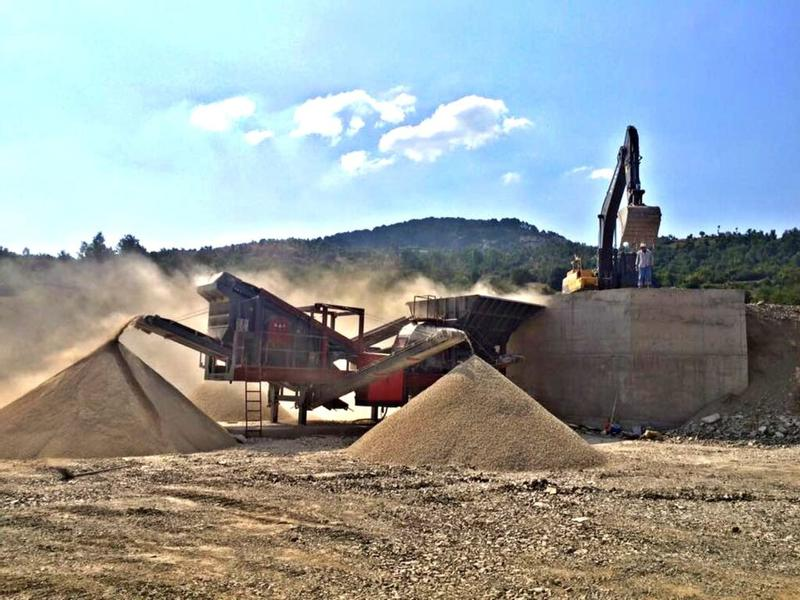Fabo PRO-70 MOBILE CRUSHING & SCREENING PLANT/