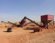 Fabo Stationary Sand Screening plant
