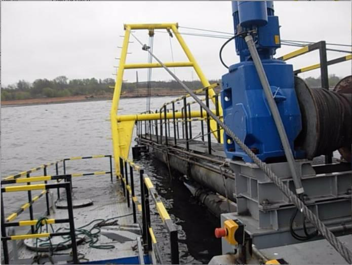 STOCZNIA KOŹLE Suction dredger PSR 150